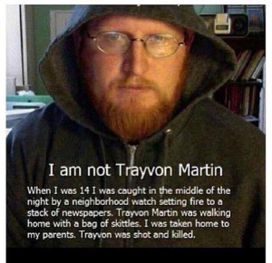 I am not Trayvon